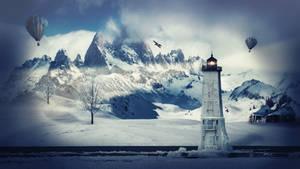 Winter Lighthouse