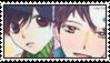 Haruhi x Hikaru Stamp by dsa22