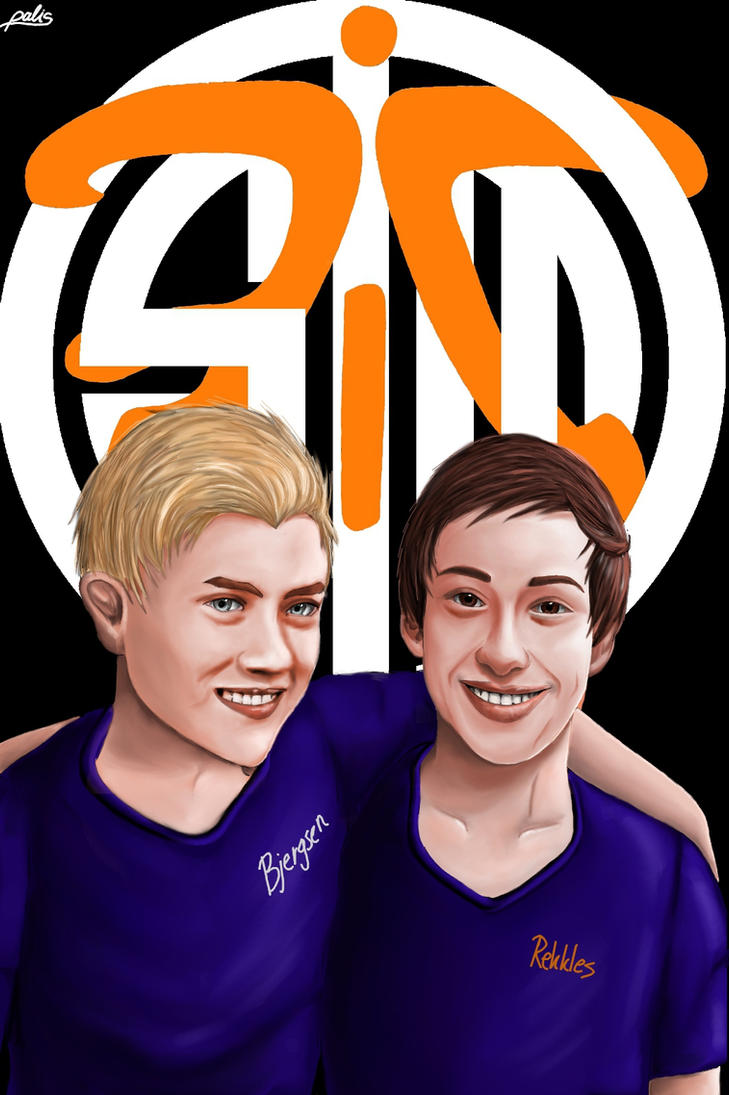 Rekkles and Bjergsen Reunited (Fanart) by xEzrealx