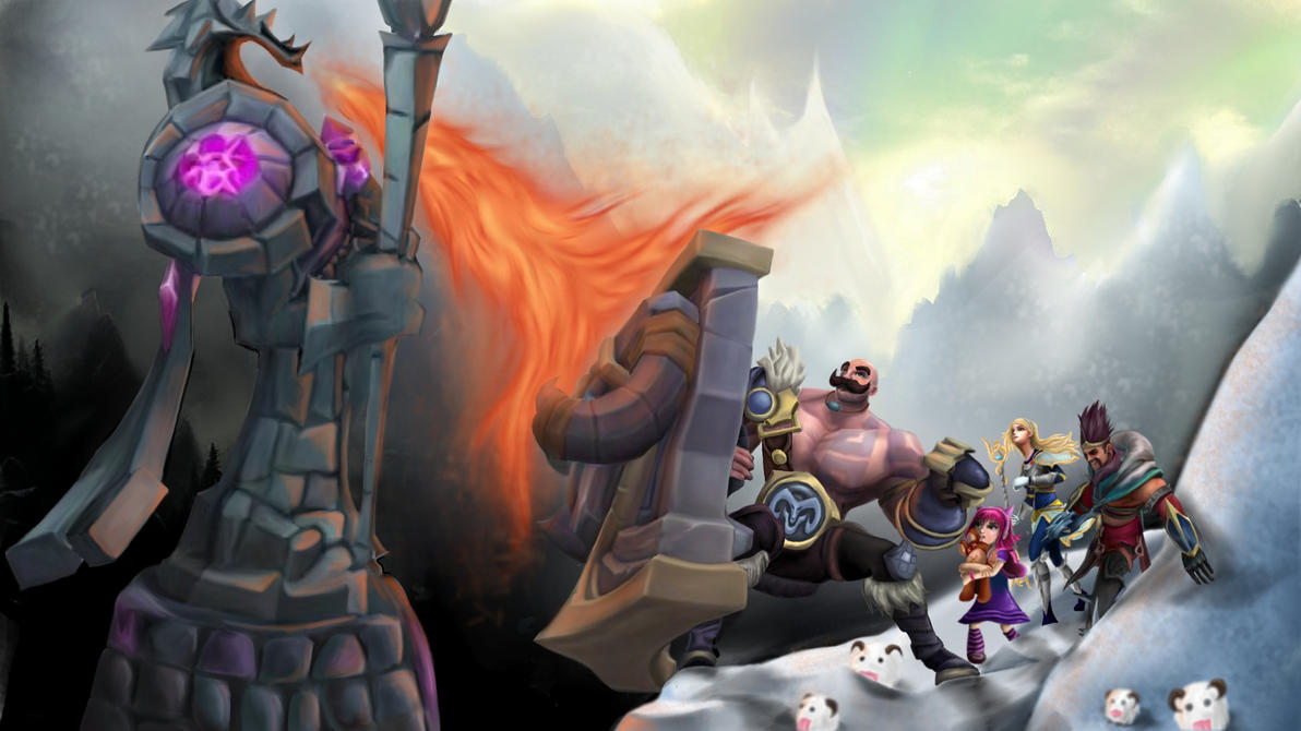 Stand behind Braum! by xEzrealx