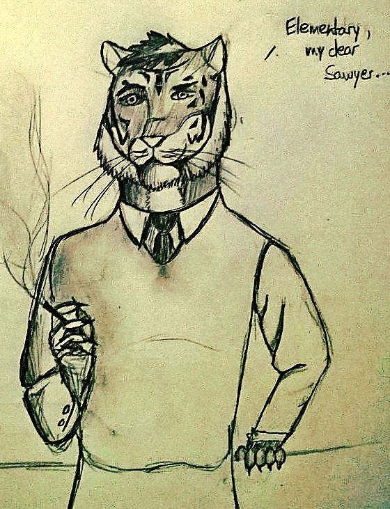 Elementary, my dear Sawyer...... by Viggen009
