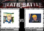 death battle idea Hank Venture VS Jonny quest