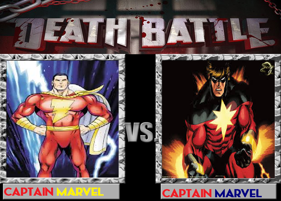 captain marvel vs battle