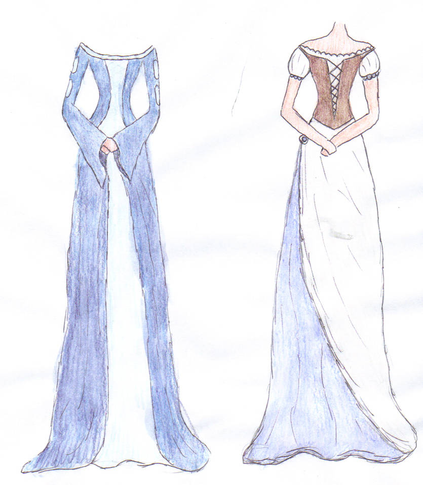 I Like To Draw Dresses By Ellen1193 On Deviantart