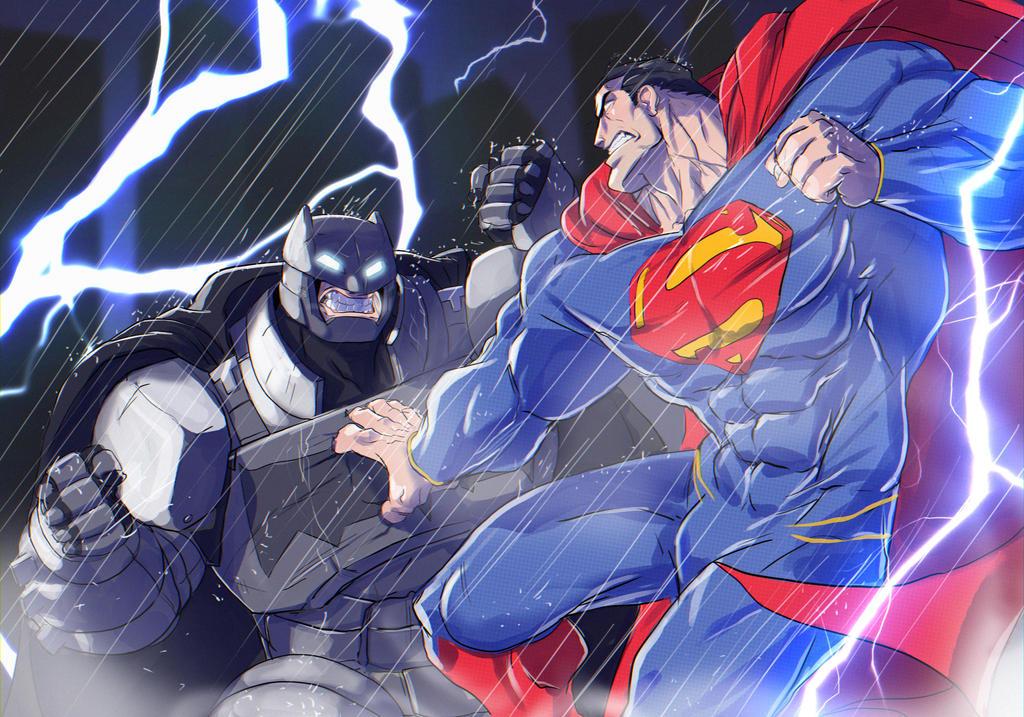 Batman Vs Superman by holako