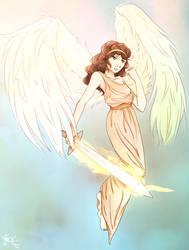 Archangel Gabriel by twin-deer