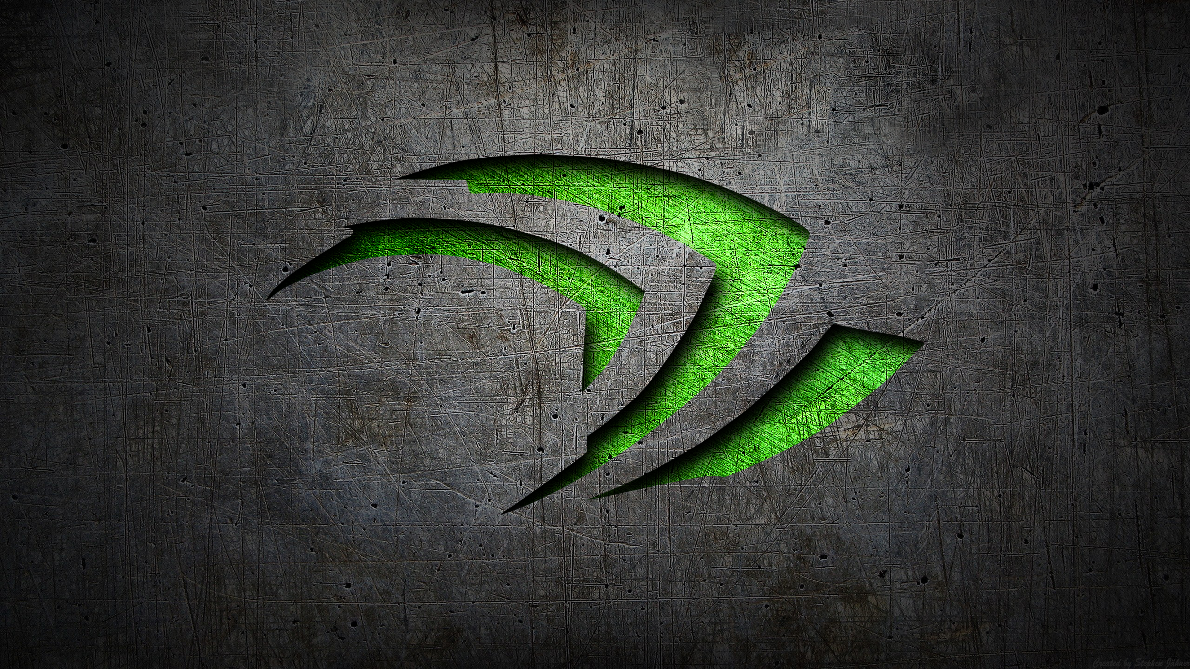 Nvidia Metal by xVeng3ance on DeviantArt