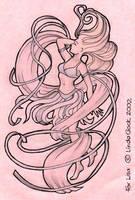 Tattoo design - air elemental by meisarn