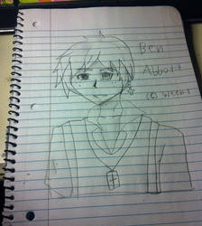 My Drawing of Ben Abbott :P