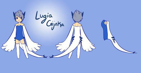 Lugia Gijinka Reference