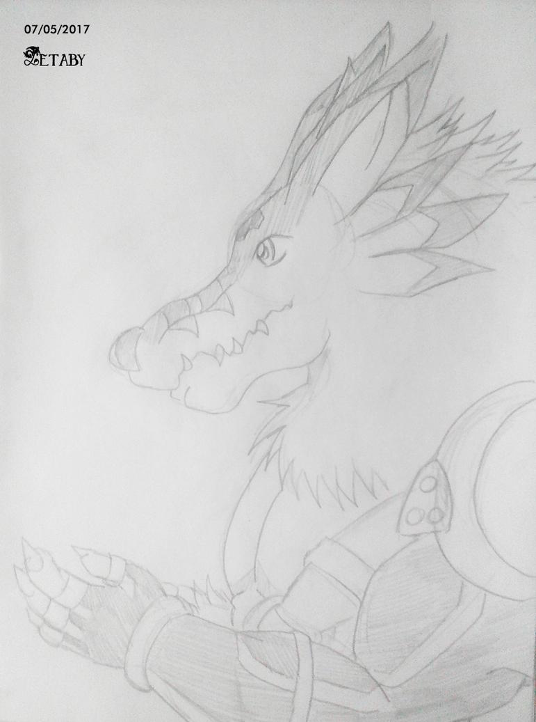Weregarurumon by Zetaby2594
