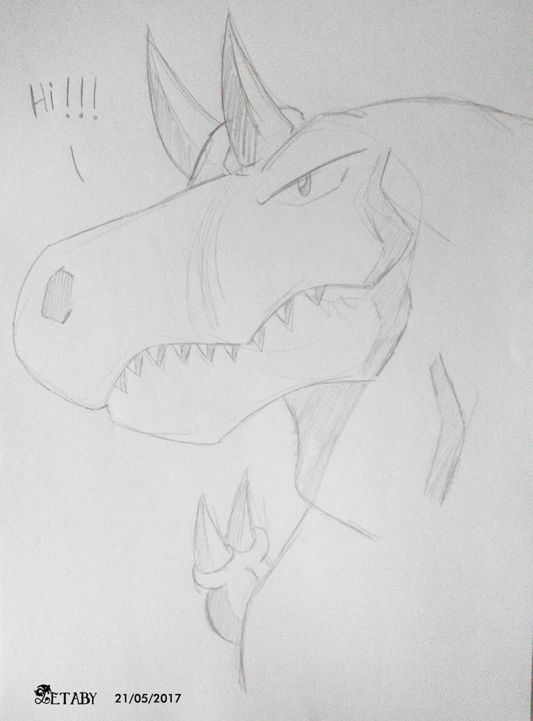 Sauro  the T-rex by Zetaby2594