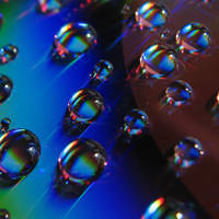 Colorful Droplets by AiSac