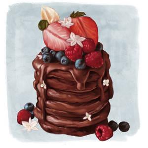 Study pancake #2