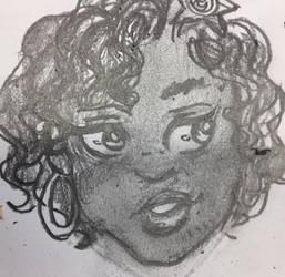 My tiny cartoony self portrait