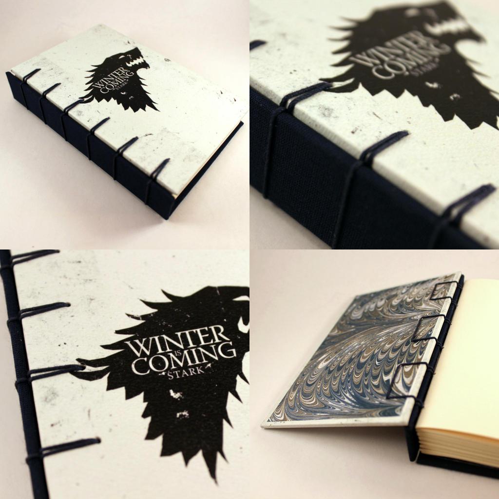 Game of Thrones Belgian Journal - Stark by GatzBcn