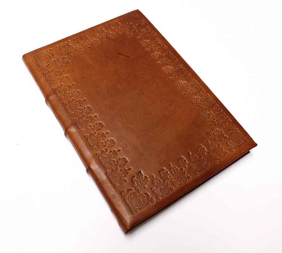 Brown Leather Journal by GatzBcn