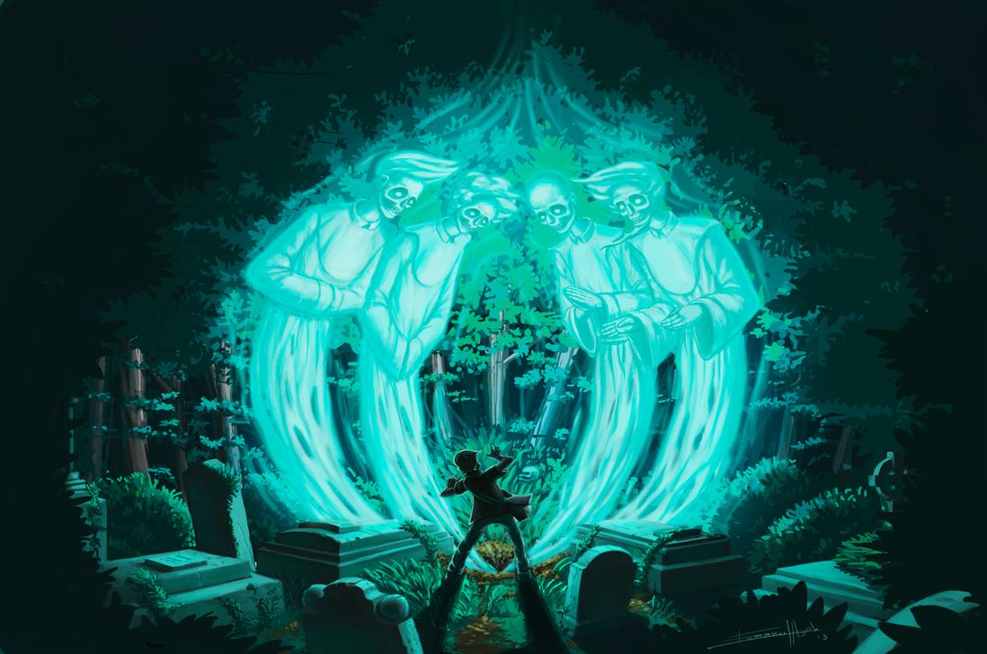 Tomb Guardians by GummoPambo
