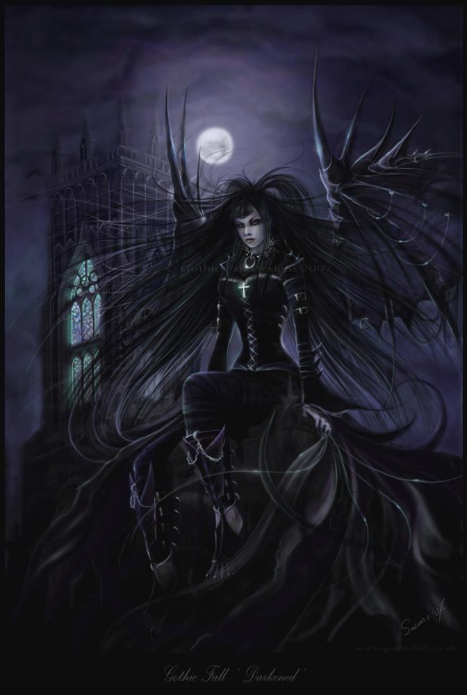 'Darkened' by QuantumSuz