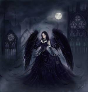 Shadow Angel - Commission