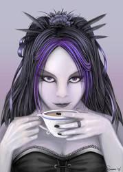Tea, my dear? by QuantumSuz