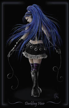 Darkling Hair 2 - Commission