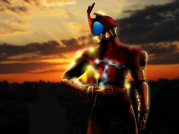 Kamen Rider Kabuto by daxtee