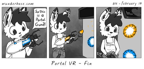 My Version of Portal VR by wunderhase