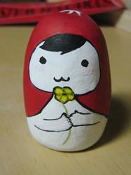 shy little lady by Gwendolinh