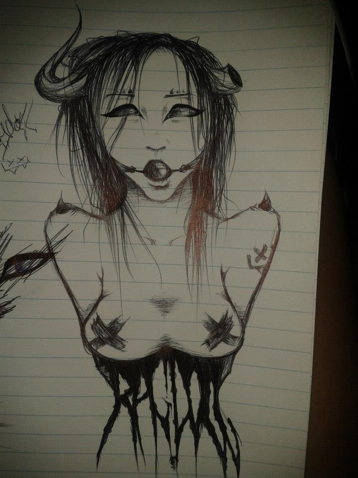 Succubus sketch by Ragadoll