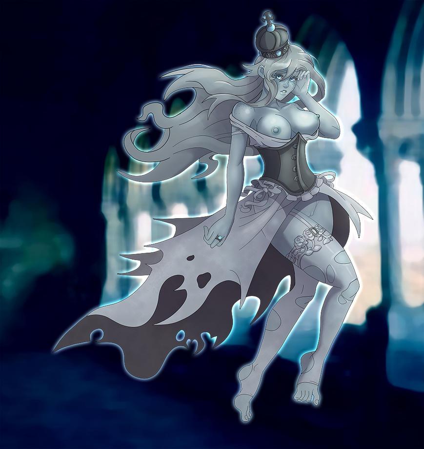 Ghost Princess by markydaysaid