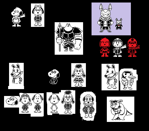 Undertale au scrapped sprite ideas 2 by Kenny1941