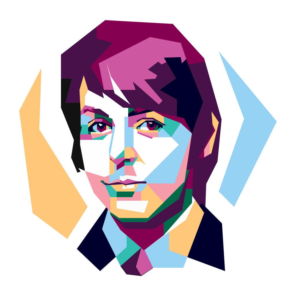 Paul McCartney By Khrddn Vector