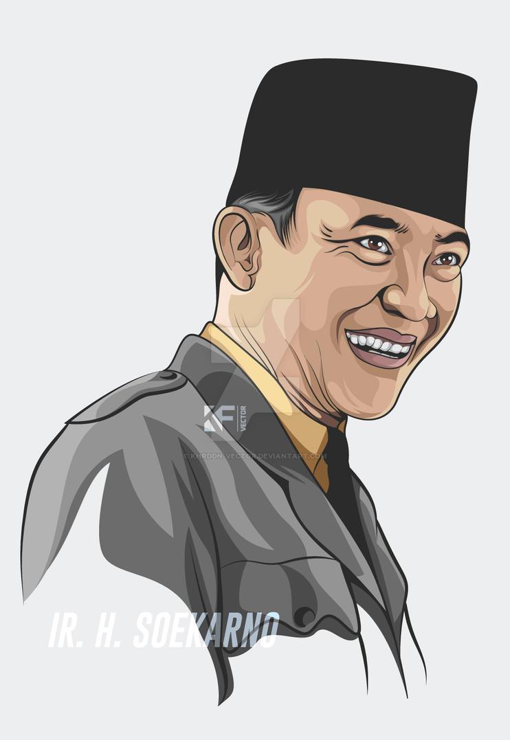 Ir. H. Soekarno by Khrddn-vector