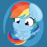 My Little Pony - PCRP Sticker Rainbow Dash