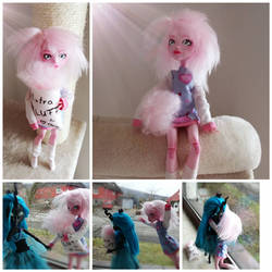 My little pony - Flufflepuff Customdoll by MimicProductions