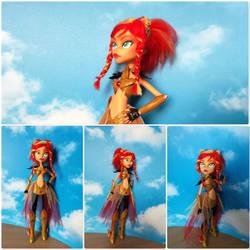 My little pony - Sunset Shimmer Custom Doll