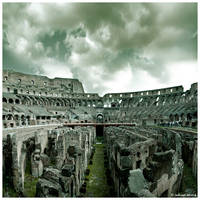 Colosseum Rome, Maze by JeRoenMurre
