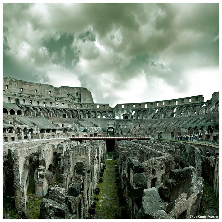 Colosseum Rome, Maze by JeRoenMurre