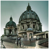 Vatican Rooftop by JeRoenMurre