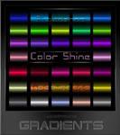 Color Shine  Gradients for Photoshop