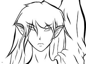 Janin vectors face detail