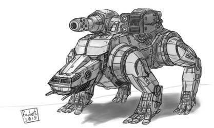 Barghest BGS-1T sketch