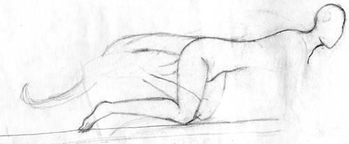 sketch of hellgirl