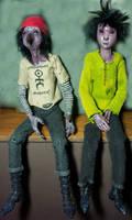 monster dolls by prettymonsters