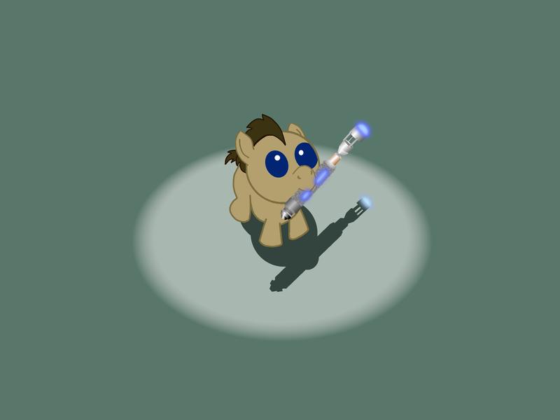 My Little Sonic Screwdriver by mkauf84