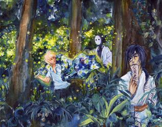 Midsummer Pursuit by TsukiaStar