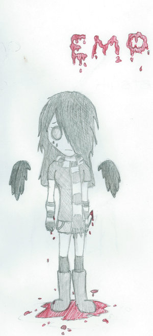 anime drawings emo. anime drawings. anime drawings