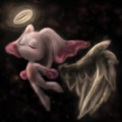 Angel chao glow by KosenWing