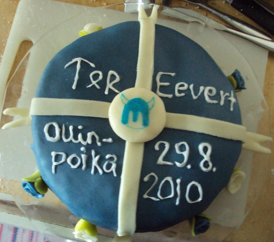 Thor cake by Virvatulia